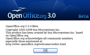 About OpenOffice.org 3.0
