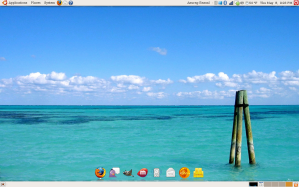Desktop with AWN